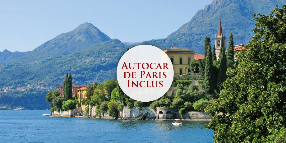 Circuit Italie, Splendeurs des Lacs Italiens