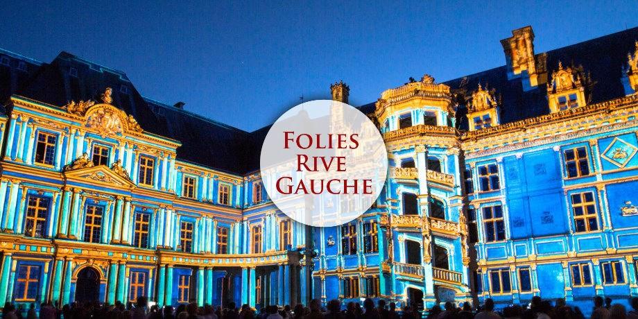 Circuit France, Escapade Historique Spectacle Son & Lumières en Val de Loire - Folies Rive Gauche*** -30 € / pers !
