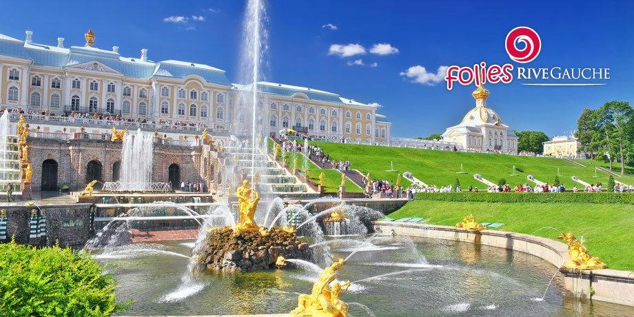 Folies Rive Gauche** -100 € ! Escapade à Saint Pétersbourg
