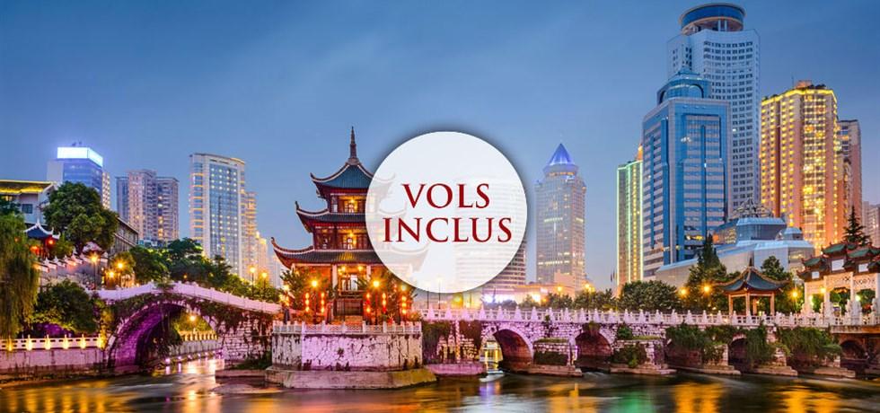 Circuit de Luxe Trésors de Chine 5* Vols Inclus