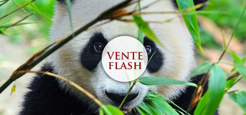 """VOLS INCLUS ! Circuit CHINE DELUXE """"au Pays des Pandas"""" 5*"""