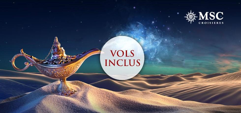 VOLS INCLUS Cabine BALCON dès 1039€ Croisière aux Emirats Vacances de Noël