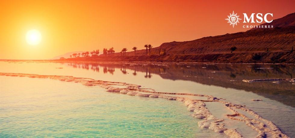 VOL & BOISSONS OFFERTES* 18 jours Croisière Canal de Suez, Jordanie, Emirates et Oman