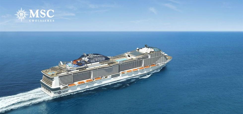 Super prix à bord du tout Nouveau bateau le MSC Meraviglia 5*