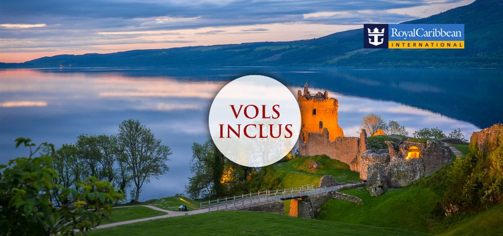 VENTE FLASH VOLS INCLUS 13 jours Croisière Irlande et Écosse
