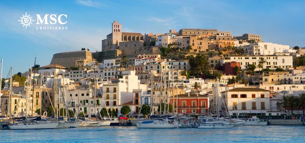 -50% pour la 2ème personne & Boissons incluses* Croisière Majorque, Ibiza, Toscane