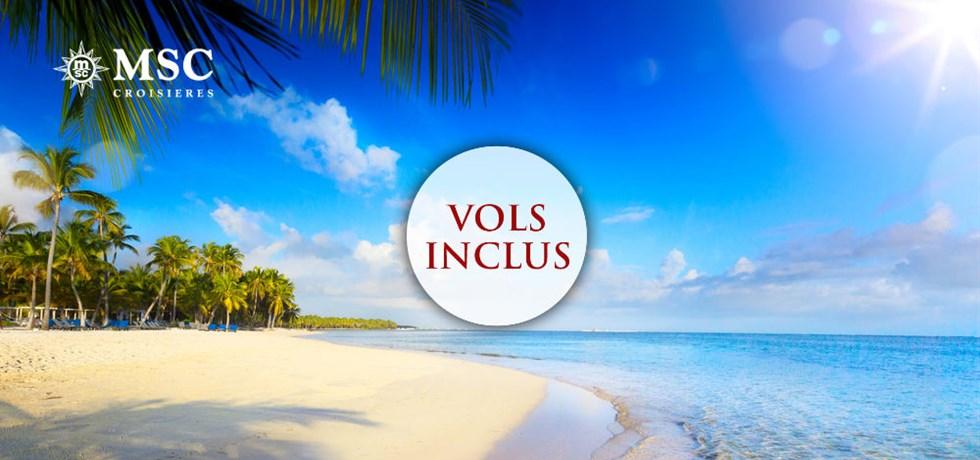 VOLS INCLUS Caraïbes : Miami / Bahamas / Antilles