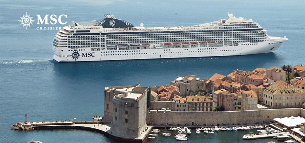 Msc croisi res au d part de port venise italie - Hotel venise port croisiere ...