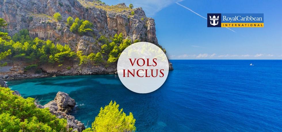 Super Deal Vacs de la Toussaint ! Vols inclus 13 jours Croisière Espagne, Majorque, Malte, Sicile, Capri