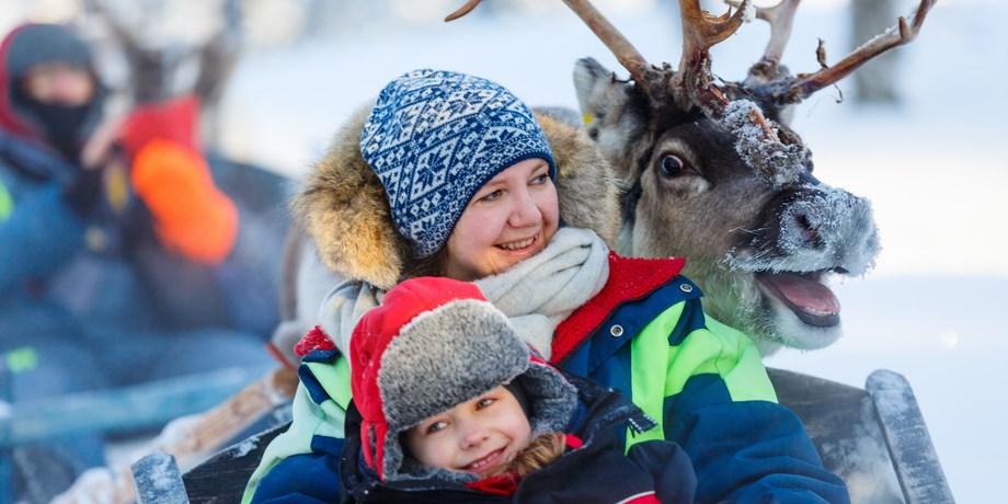 Laponie, à la Rencontre du Père Noël