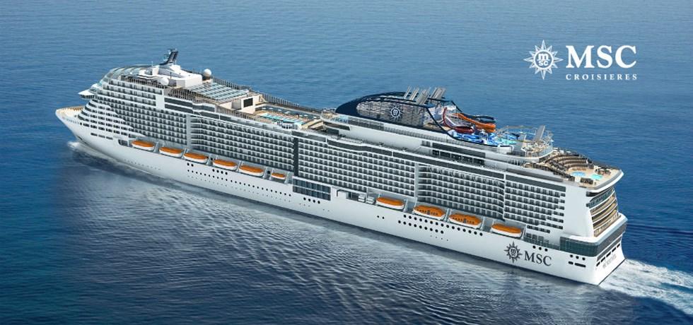 OFFRE SPECIALE -10%* A bord de tout nouveau MSC Meraviglia 5* ! Au départ de Marseille Croisière Italie, Malte, Espagne