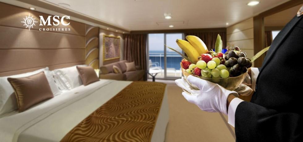 SPECIALE REMISE Yacht Club : Luxe & Exclusivité** A bord du Tout Nouveau et Spectaculaire MSC Seaview 5*