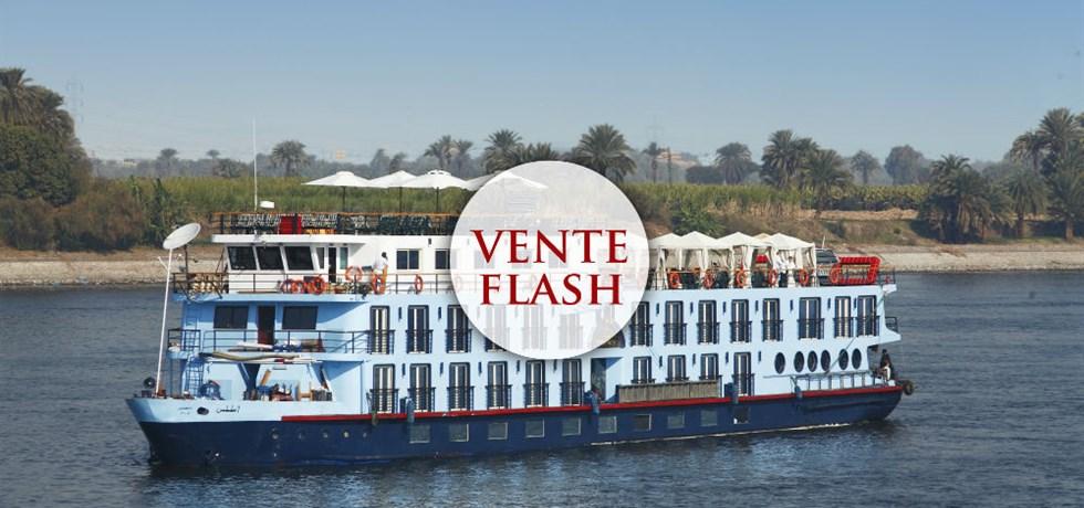 Dernière Minute -300 € Vols Inclus** ! Croisière de Luxe sur le Nil 5* - Visites incluses