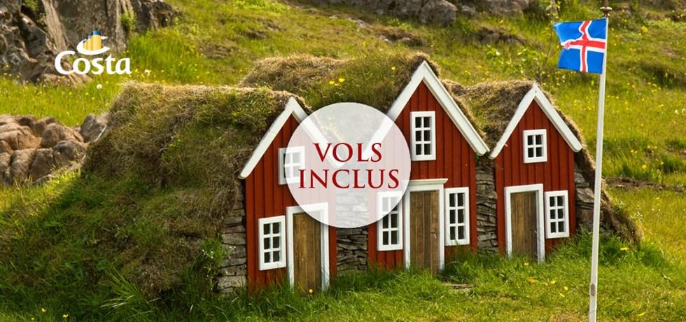 SUPER PRIX VOLS INCLUS 15 jours croisière Islande et Ecosse