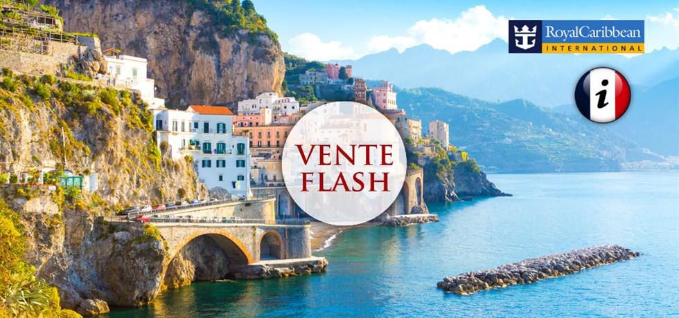 VENTE FLASH jusqu'au 24 octobre ! VOLS INCLUS 13 jours Croisière Italie (Rome, Amalfi), Croatie,  Monténégro - informations en français à bord