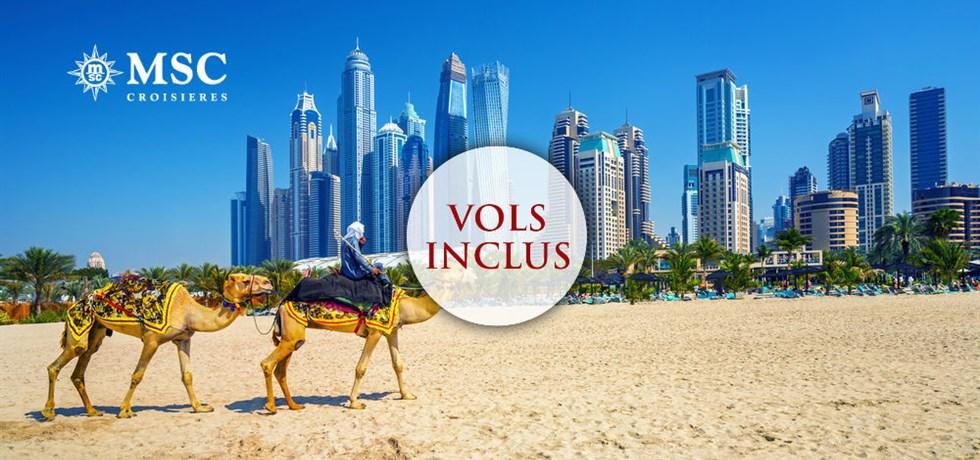 Dépêchez vous ! Vols inclus 12 jours Croisière Mille et une nuit : Emirats, Qatar, Oman