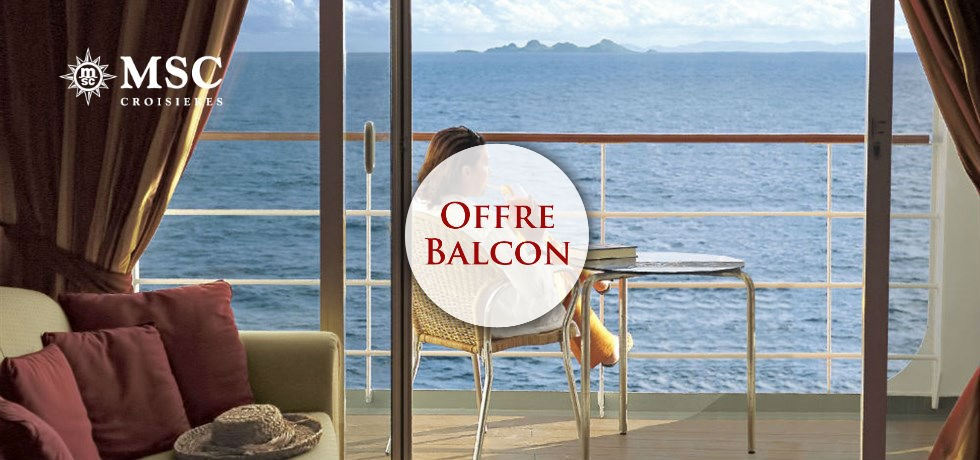 Forfait Boissons Tout Inclus offert en Cabine Balcon** ! A bord du Tout Nouveau et Spectaculaire MSC Seaview 5*