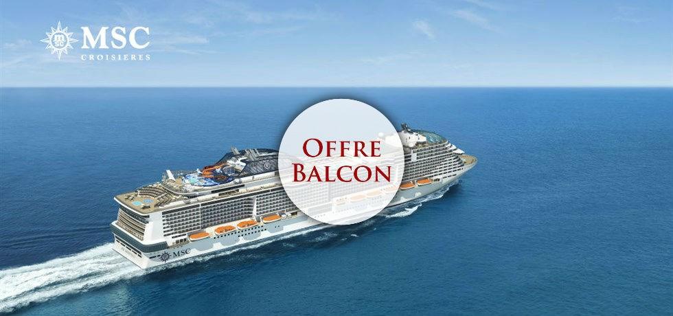 Forfait Boissons Tout Inclus offert en Cabine Balcon** ! A bord de tout nouveau MSC Meraviglia 5* ! Au départ de Marseille Croisière Italie, Malte, Espagne