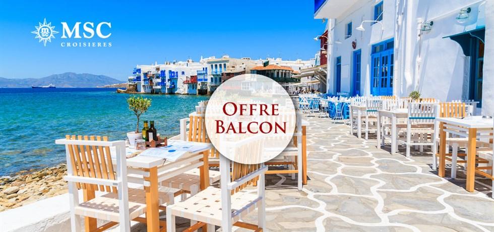 Forfait Boissons Tout Inclus offert en Cabine Balcon** ! Croisière Iles grecques, Albanie, Croatie