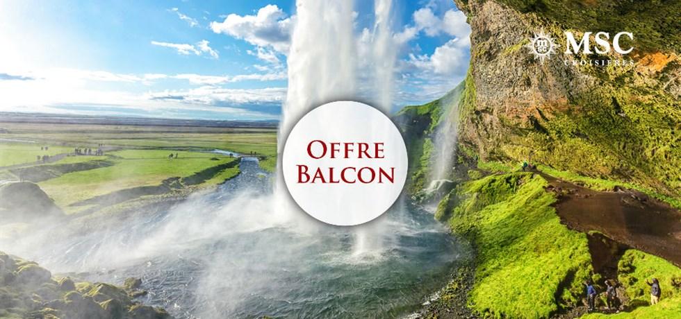 Forfait Boissons Tout Inclus offert en Cabine Balcon** ! VOLS INCLUS 12 jours Croisière Islande A bord de tout nouveau MSC Meraviglia 5*