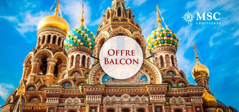 Forfait Boissons Tout Inclus offert en Cabine Balcon** ! Vols inclus 12 jours Capitales de la Baltique A bord du Tout Nouveau MSC Meraviglia 5*