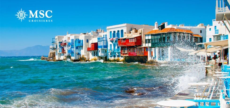 OFFRE SPECIALE: Croisière Les belles îles grecques : Mykonos, Corfou...