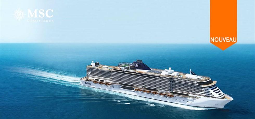 A bord du Tout Nouveau et Spectaculaire MSC Seaview 5* Croisière Italie, Malte, Espagne