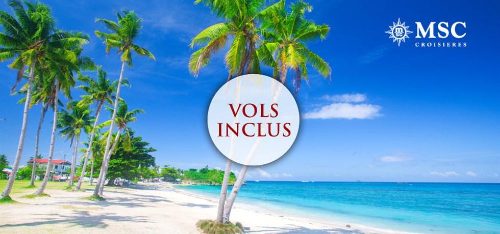 Remise de 15% jusqu'au 25 mars*** SUPER PRIX VOL ALLER OFFERT ET RETOUR AU HAVRE ! 16 jours Transatlantique Caraïbes & Canaries