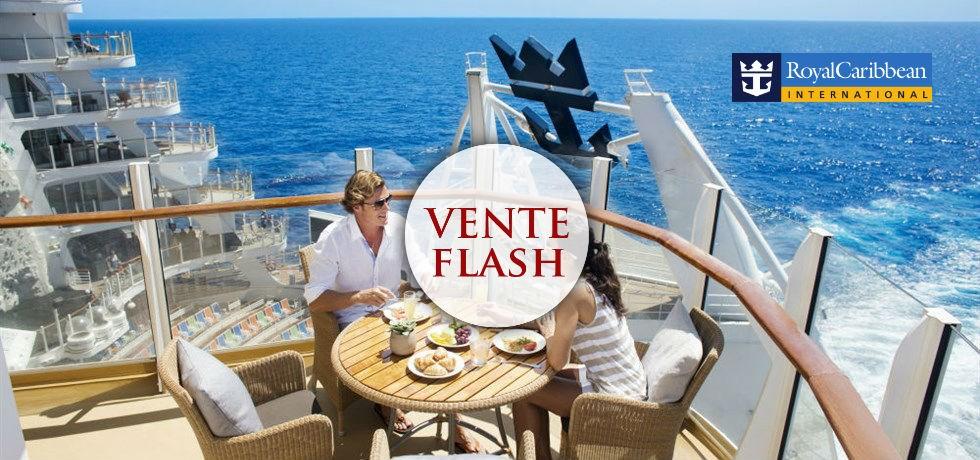 VENTE FLASH jusqu'au 24 octobre ! A bord du Oasis of the Seas 5* Croisière en Méditerranée !