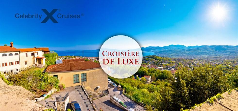 VENTE FLASH jusqu'au 24 octobre ! 10 jours Croisière de Luxe Slovénie, Croatie, Monténégro, Malte, Sicile, Capri