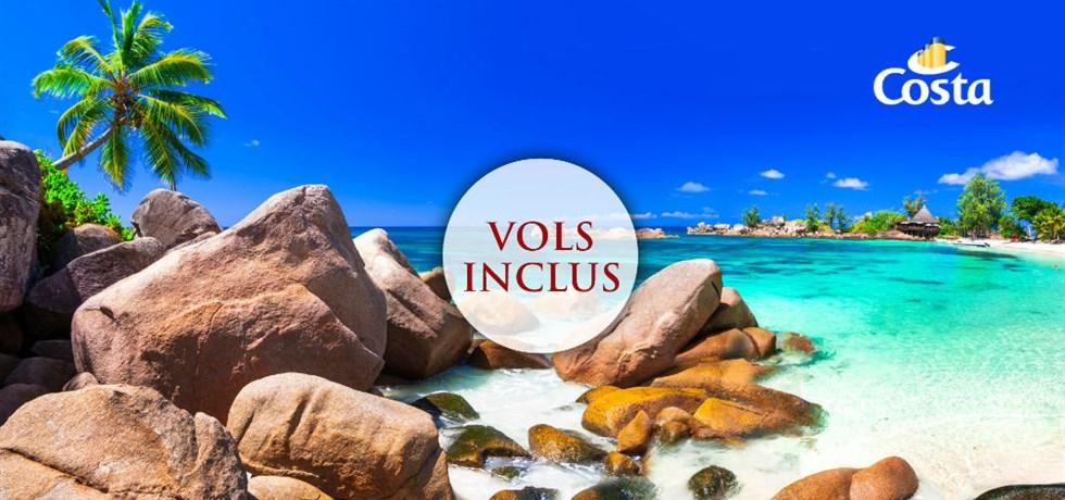 STOP AFFAIRE ! Vols Inclus 15 jours Croisière Seychelles Madagascar Maurice La Réunion
