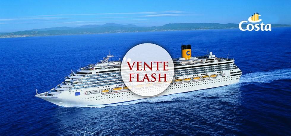 SUPER VENTE FLASH Au départ de Marseille Croisière Italie, Baléares, Espagne