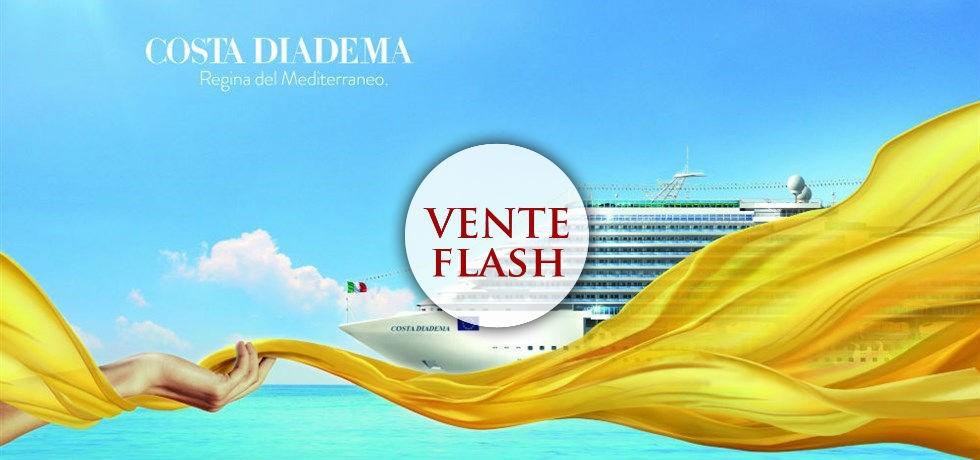 SUPER VENTE FLASH En septembre Éclat de la Méditerranée A bord du Costa Diadema 4*