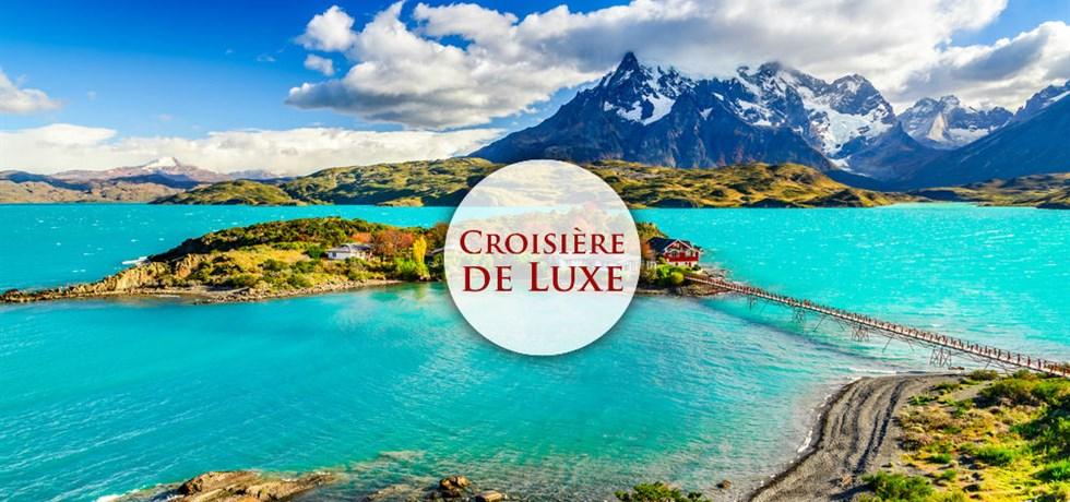 VENTE FLASH jusqu'au 24 octobre ! Inédit ! 15 jours Croisière de Luxe Argentine, Uruguay, Chili, Cap Horn, Terre de Feu - Noël et Nouvel An