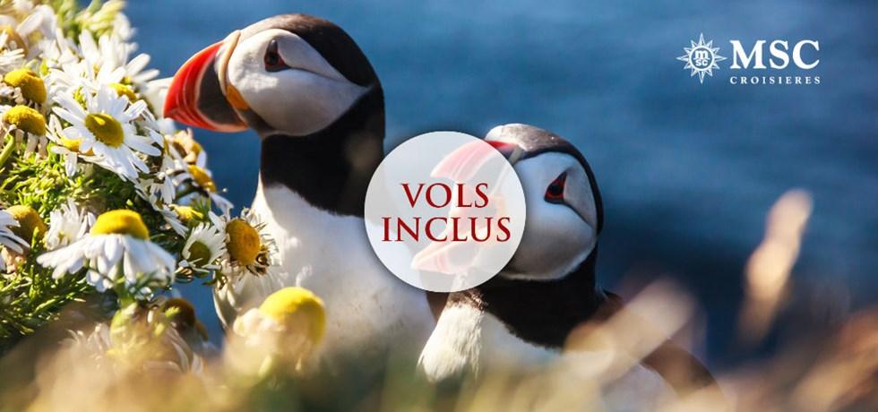 VOLS INCLUS 13 jours Croisière Islande et Norvège