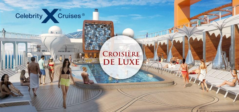 VENTE FLASH jusqu'au 24 octobre ! A bord du Tout Nouveau et Innovant Celebrity Edge 5* ! 11 jours Majorque, Espagne, Monaco, Italie