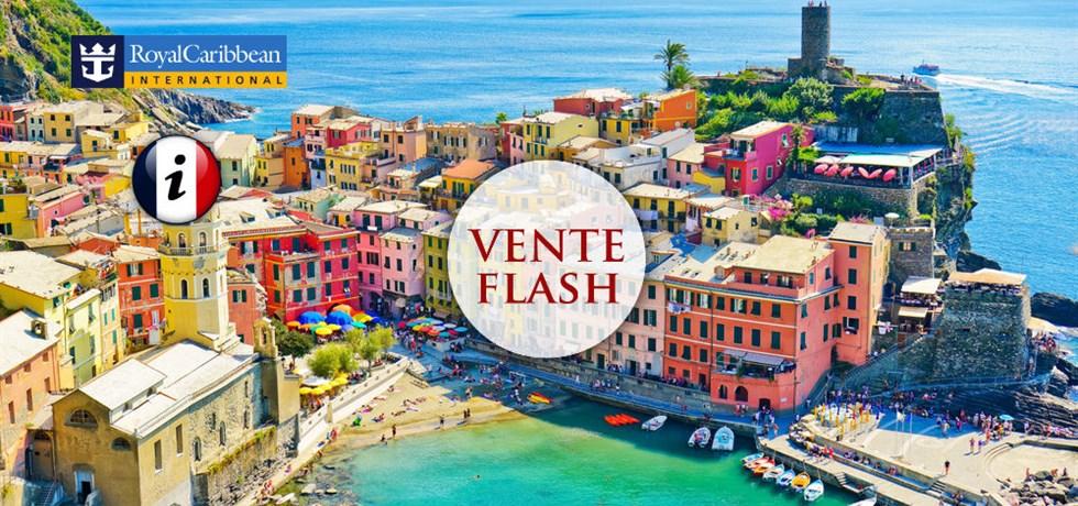 VENTE FLASH jusqu'au 24 octobre ! Espagne, Italie, Majorque, Corse - informations en français à bord