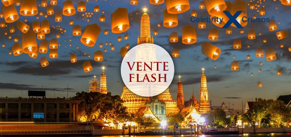 VENTE FLASH jusqu'au 24 octobre ! 15 jours Croisière de Luxe Chine, Vietnam, Thaïlande - Noël et Nouvel A