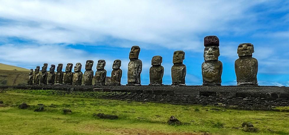AVANT PREMIERE -520 €** ! Mosaïques du Chili & de l'Île de Pâques