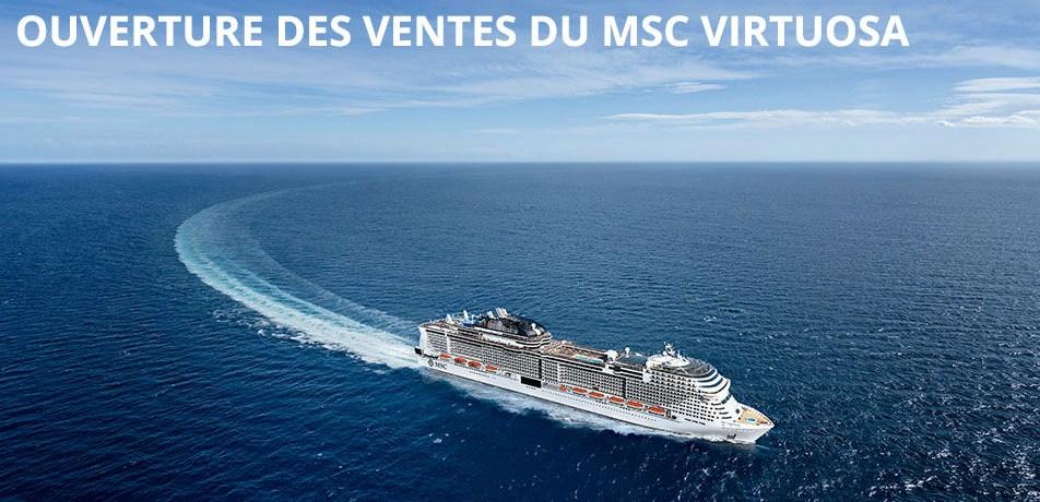 A bord du tout nouveau MSC Virtuosa 5* Fjords de Norvège