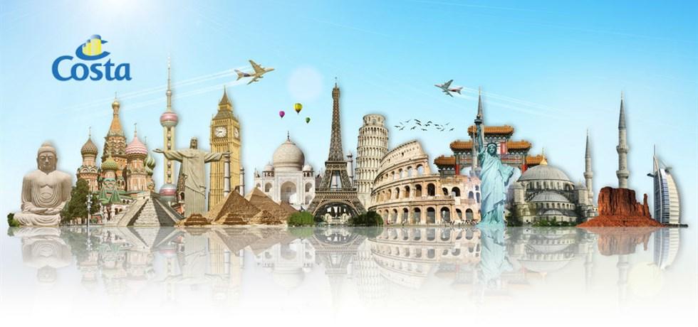 Forfait boissons et sélection d'excursions offerts* Tour du Monde 2021