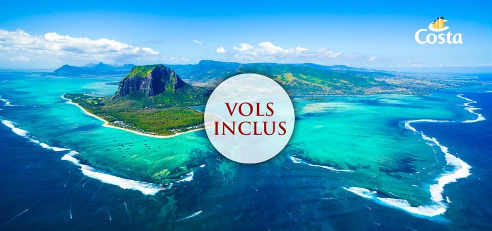 Vous attendiez les prix ! VOLS INCLUS 15 jours Croisière Océan Indien