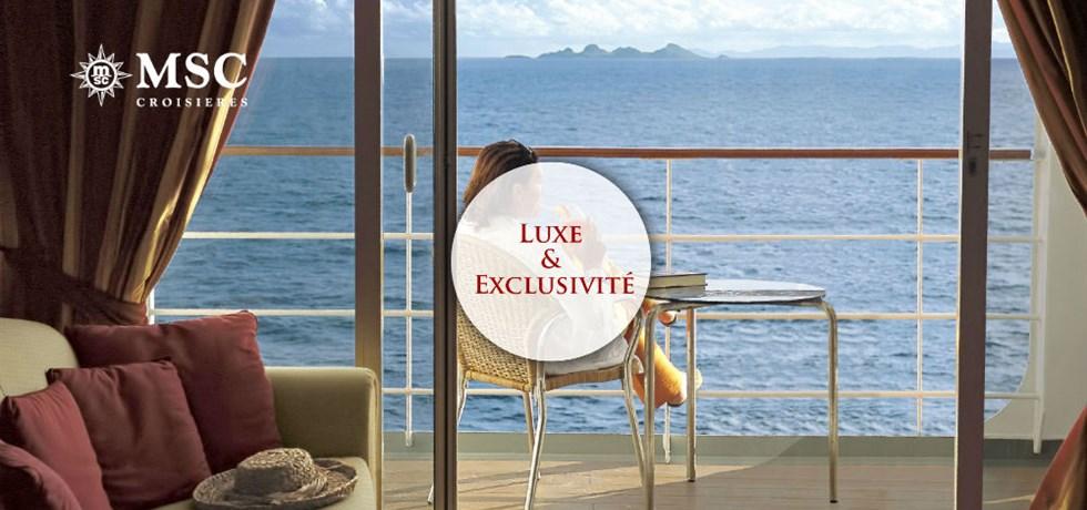 REMISE SPECIALE Suite Yacht Club : Luxe & Exclusivité** A bord du tout nouveau bateau MSC Bellissima 5* Croisière Espagne, Italie, Malte