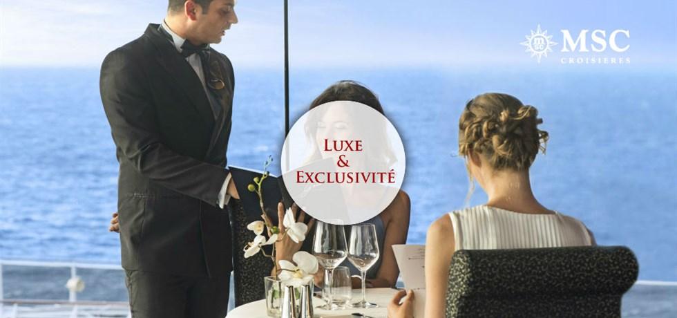REMISE SPECIALE Yacht Club : Luxe & Exclusivité** ! A bord du MSC Fantasia 5* Croisière Majorque, Ibiza, Toscane