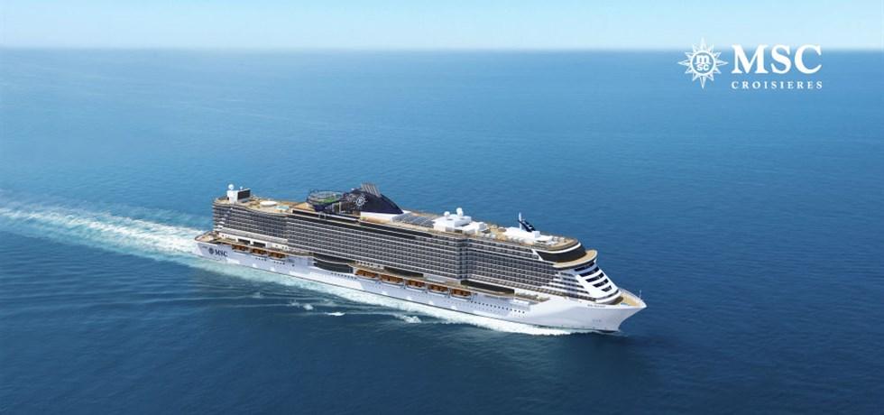 Remise de 15% jusqu'au 25 mars** Au départ de Cannes ! A bord du Tout Nouveau et Spectaculaire MSC Seaview 5* Majorque, Espagne, Italie