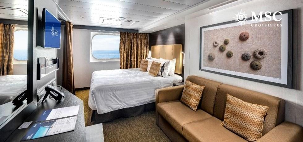 Offre Bel Hiver** A bord du MSC Grandiosa 5* Italie, Sicile, Malte, Espagne - Spectacle Cirque du Soleil Offert !