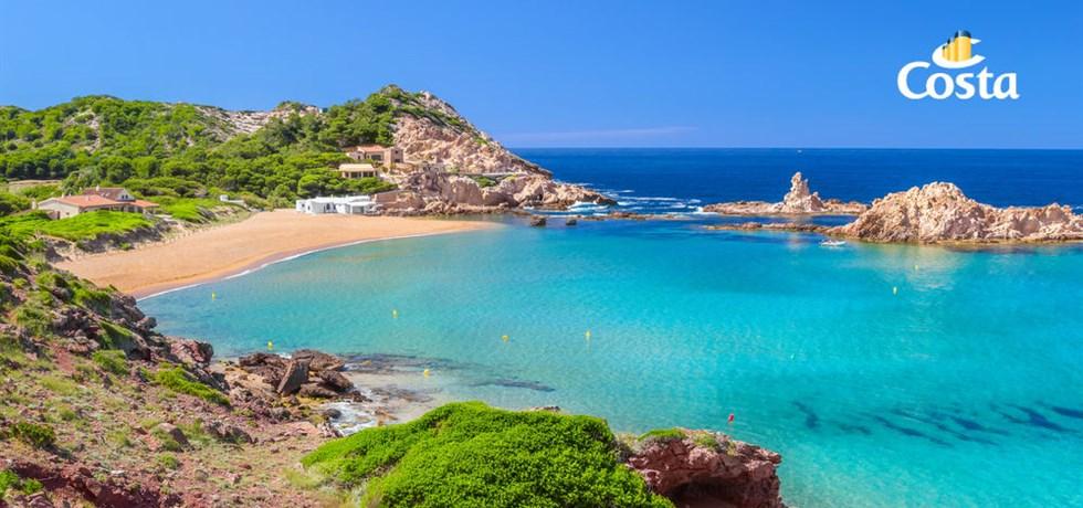 SUPER PRIX Au départ de Toulon 12 jours Espagne, Ibiza, Majorque, Minorque, Italie, Corse