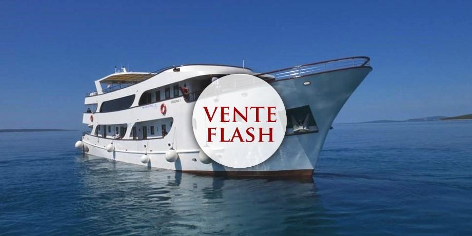 Vente Flash** -150 €/pers ! Les Îles Croates en Yacht - 8 jours