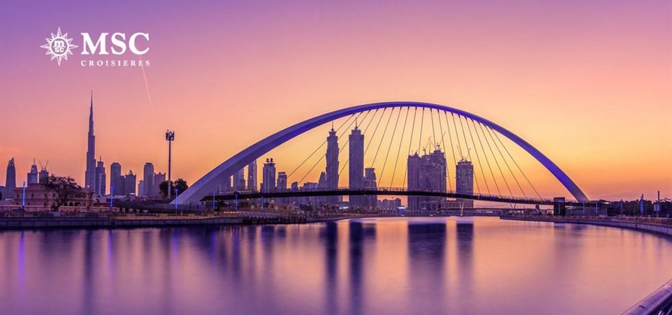 A bord du MSC Splendida 5* Vol inclus 18 jours Emirats, Oman, Jordanie, Egypte, Grèce, Italie