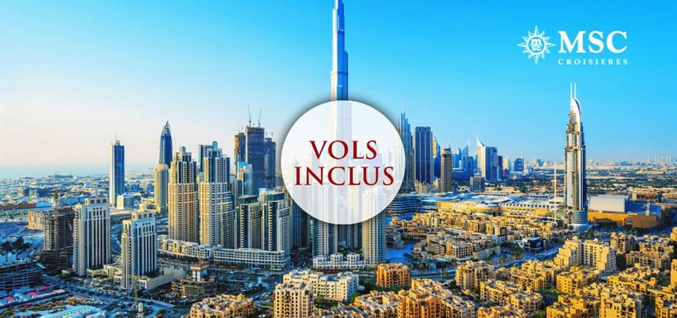 Offre limitée Hiver au Soleil** Vols inclus 12 jours Croisière Mille et une nuit : Emirats, Qatar, Oman